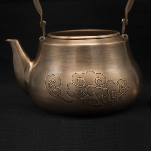 Handmade Red Copper Teapot