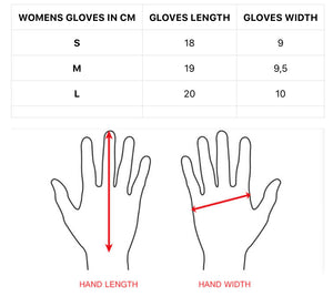 Women Rivet gloves