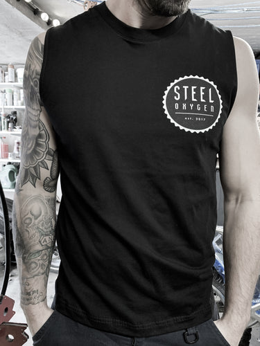 Mens Black Tank top
