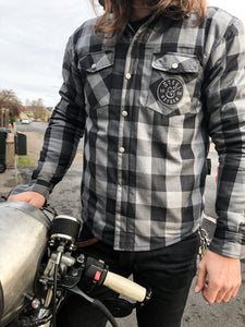 Kevlar motorcycle shirt with protection