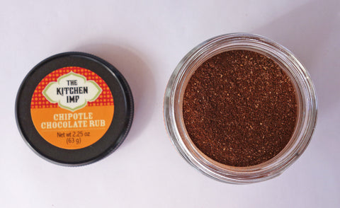 Chipotle Chocolate Rub - organic