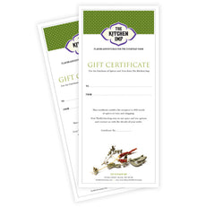 The Kitchen Imp Gift Certificate