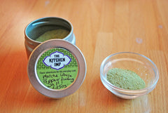Matcha White Pepper Finishing Salt