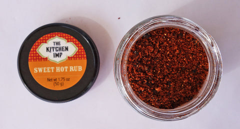 Sweet Hot Rub