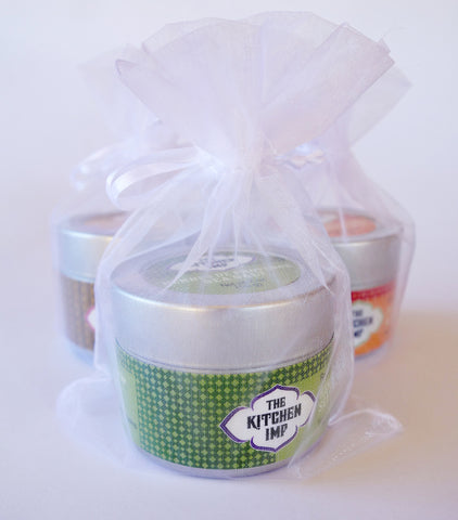 Wedding Favors - Herbes de Provence Salt 30 tins