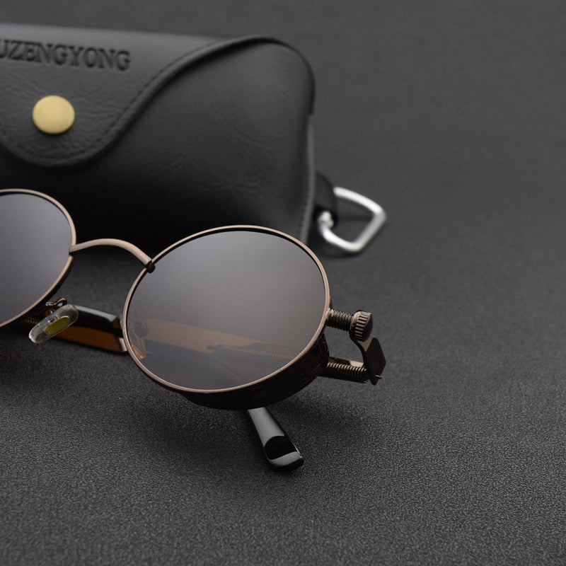 Polarized Steampunk Sunglasses UV400