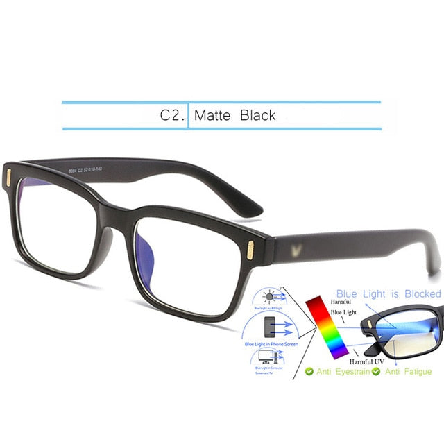 Blue Night Light Computer & Gaming Glasses
