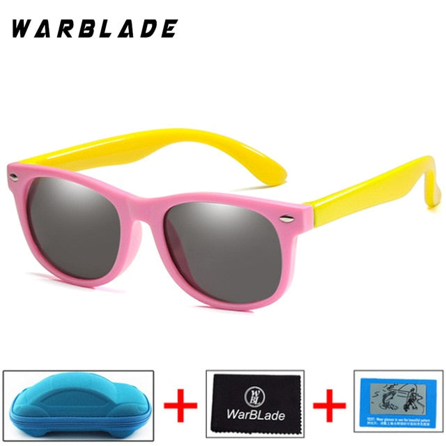 Children's Polarized Unbreakable Silicone Safety Sunglasses