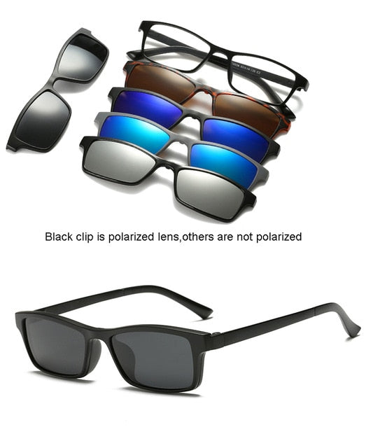 Polarized Bifocal Clip on Sunglasses (UV 400)
