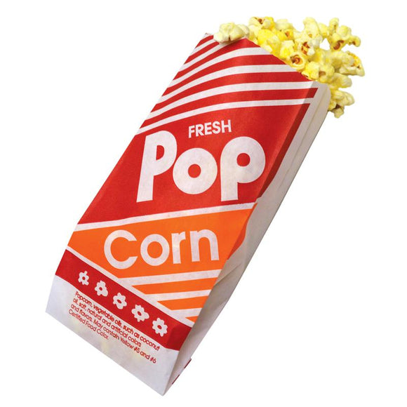 No. 3 Popcorn Bag - Disposables-Gradys