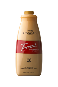 1/2 Gal Torani White Chocolate Sauce - Disposables-Gradys
