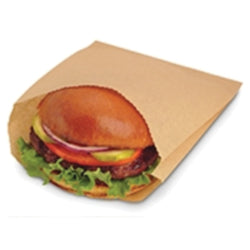 Natural Paper Sandwich Bag - Disposables-Gradys