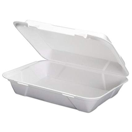 Large Hinged Hoagie Container - Disposables-Gradys