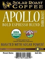 Solar Roast Coffee - Apollo Bold Espresso Blend - Disposables-Gradys
