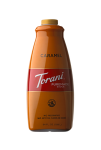 1/2 Gal Torani Caramel Sauce - Disposables-Gradys