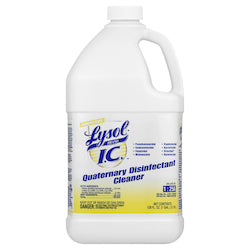 Lysol 1 Gallon Quaternary Disinfectant Cleaner - Disposables-Gradys