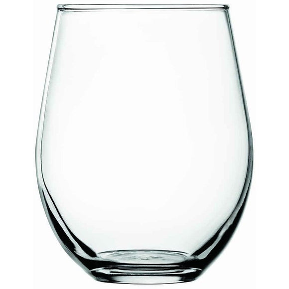 Anchor Hocking 95141AHG17 Vienna Stemless 15 oz Wine Glasses - Disposables-Gradys