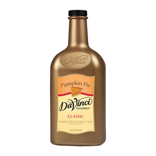 1/2 Gal DaVinci Pumpkin Pie Sauce - Disposables-Gradys