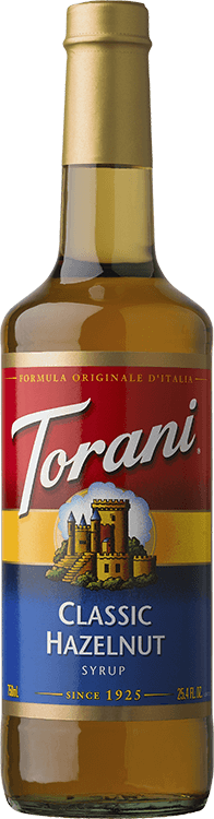 Torani Hazelnut Syrup 750ml - Disposables-Gradys