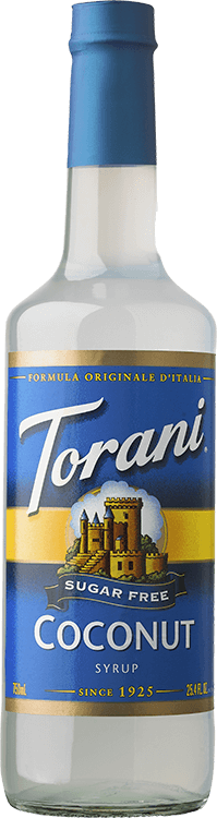 Torani Sugar Free Coconut Syrup 750ml - Disposables-Gradys