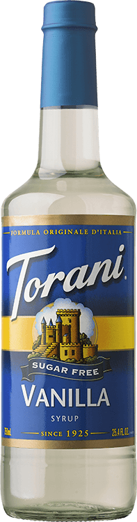 Torani Sugar Free Vanilla Syrup 750ml - Disposables-Gradys