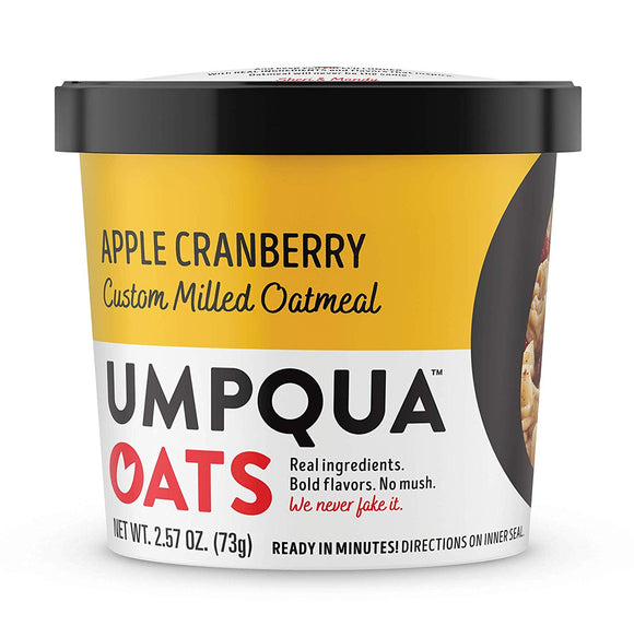 Umpqua Oats Variety Pack Apple Cranberry & Maple Pecan 8ct - Disposables-Gradys