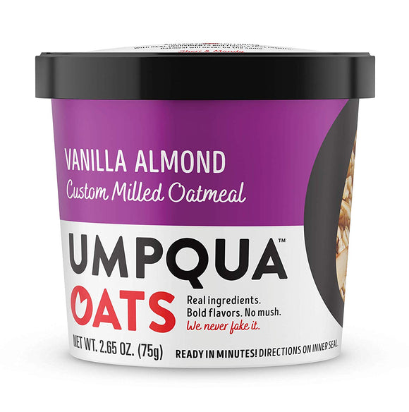 Umpqua Oats Variety Pack Fruit & Nut & Vanilla Almond 8ct - Disposables-Gradys