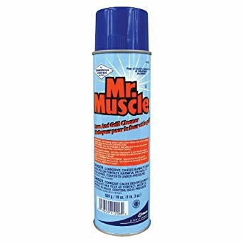 19 Oz SCJ Mr Muscle Oven and Grill Cleaner - Disposables-Gradys
