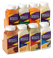 Shake-On Cheddar Cheese Flavor w/ (4) 18 oz Jars - Disposables-Gradys