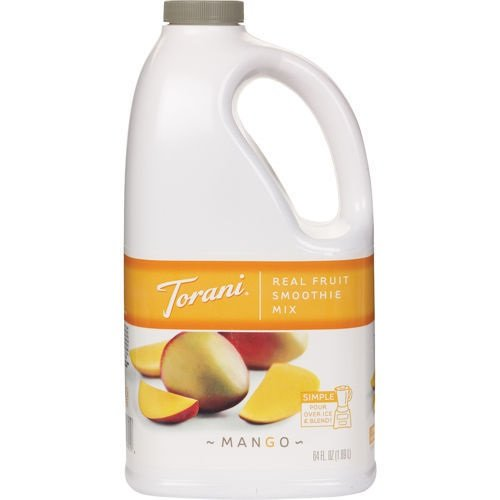 Torani Real Fruit Smoothie - Mango 64oz - Disposables-Gradys