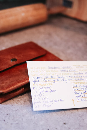 Family Recipe Set | Heirloom Gift