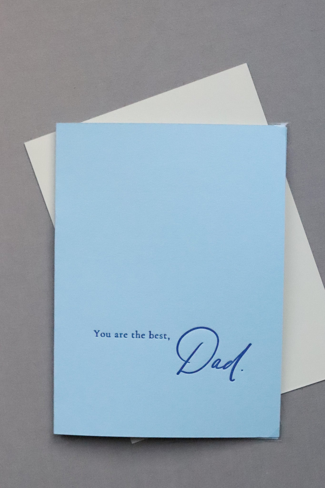 You Are The Best, Dad - Letterpress Card