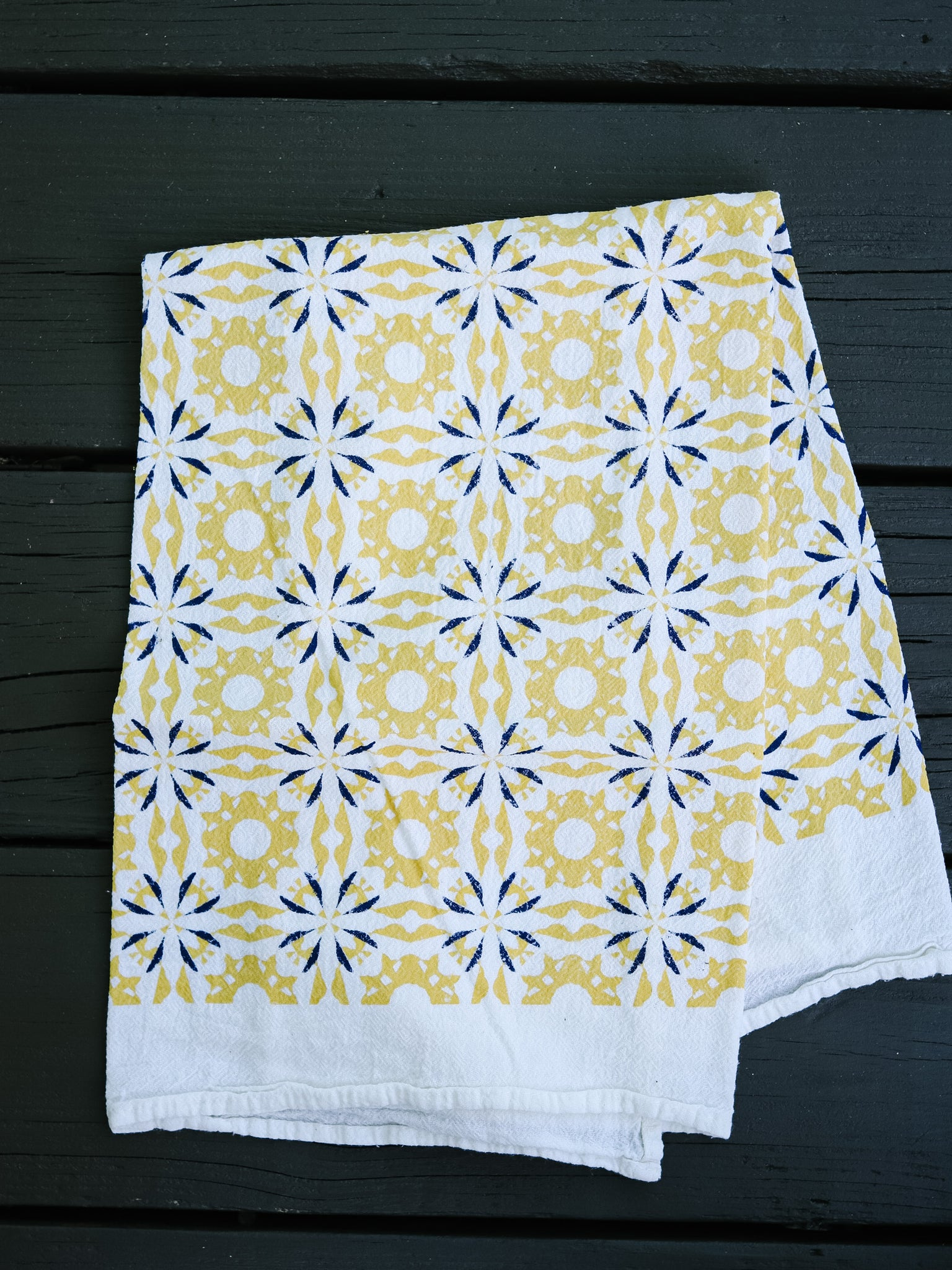 Tangerine Chicory Towel | June & December