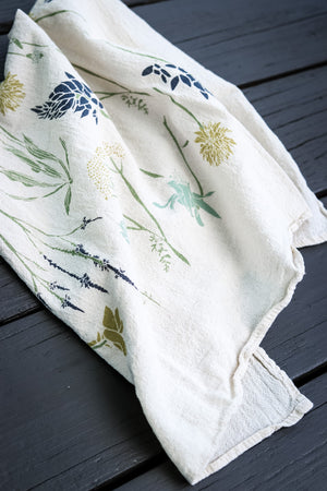 Northern Region Wildflowers Towel | June & December