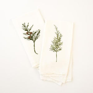 Winter Greens Napkins, Set of 4 | June & December