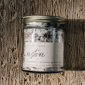 Slow Made - Restore | Bath Salts