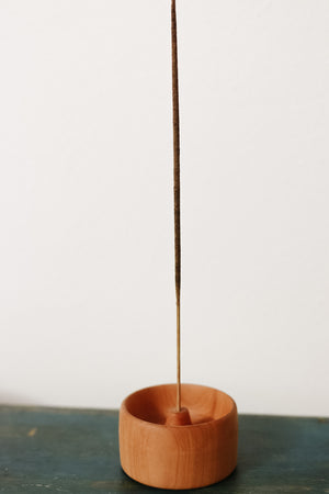 Hand-Turned Incense Holders