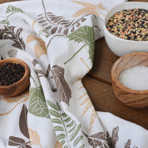 June & December | Leaf Pile Towel