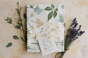 June & December - Herbal Tea Garden Towel