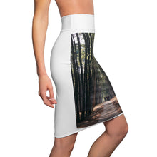 Load image into Gallery viewer, Women's Pencil Skirt - The Woods