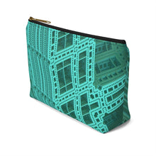 Load image into Gallery viewer, Accessory Pouch w T-bottom - City View