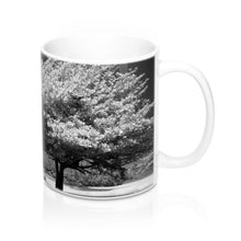 Load image into Gallery viewer, Mug 11oz -Black and White Tree Scene
