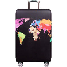 Load image into Gallery viewer, HMUNII World Map Design Luggage Protective Cover Travel Suitcase Cover Elastic Dust Cases For 18 to 32 Inches Travel Accessories