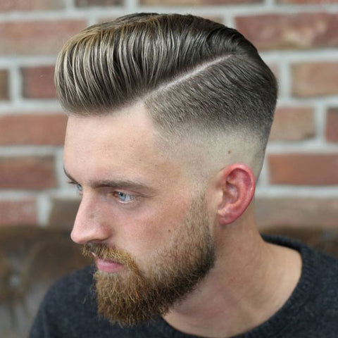 Medium Pompadour with undercut