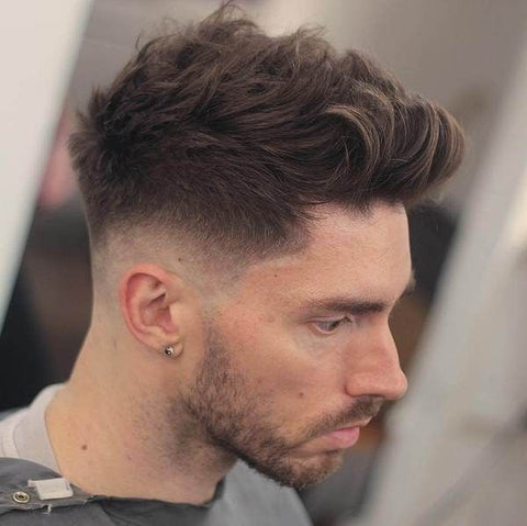 Short back and sides with long on the top