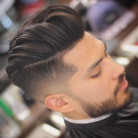 Undercut Combover Medium hair Style