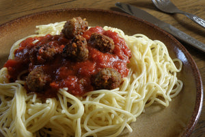 Shirley's Easy Meatball Sauce Recipe