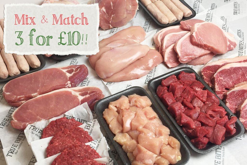 Product Announcement: 3 for £10 Butchers Weekly Essentials