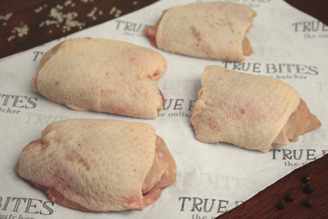 Boneless British Chicken Thighs 1.00KG