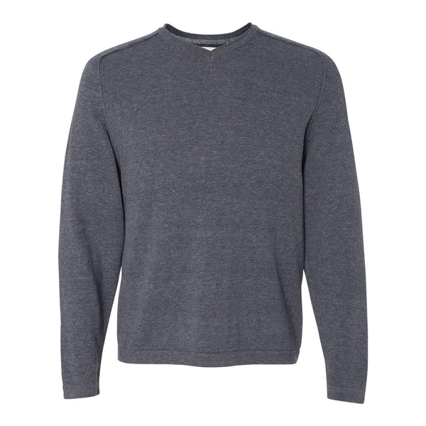 Weatherproof® Vintage Denim V-Neck Cotton Sweater